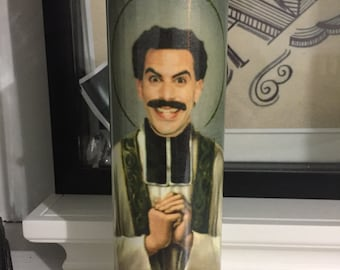 St Borat Prayer Candle
