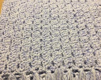 Infant Hand Crocheted Blanket