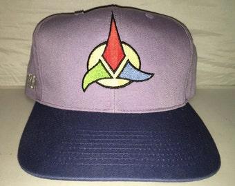 Vintage Star Trek Kling on Blockhead American Needle snapback hat cap