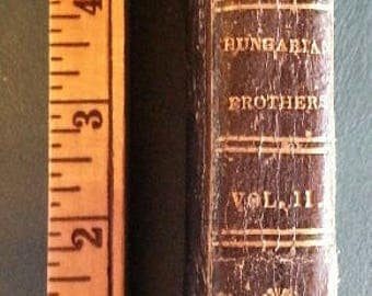 1832 book: The Hungarian Brothers Vol. II