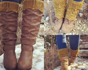 Meadow Boot Cuff Topper