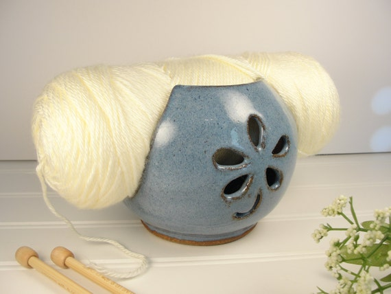 Knitting Yarn Holder : Items similar to yarn holder knitting
