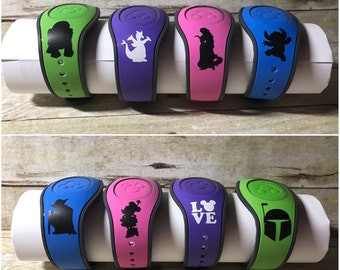 Disney Magic Band 2.0 Decal Stickers Decals #1