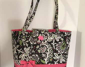 Beautiful multi-pocket purse/tote bag