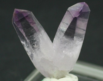 Amethyst Crystal Pair,Vera Cruz, Mexico.  Mineral Specimen for Sale