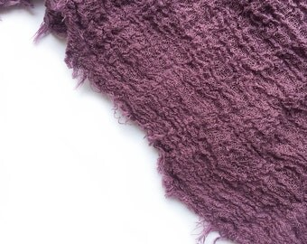 Natural Cheesecloth Gauze   Eggplant