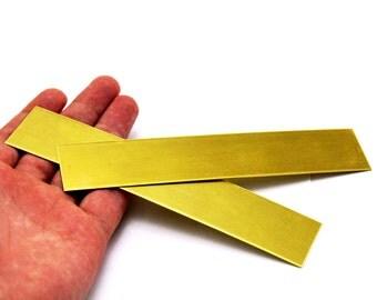 1 pcs 0.80x30x150 mm Raw Brass Bracelet Stamping Blanks, Brass Rectangle, Stamping Blank, Bangles, ( 20 Gauge )