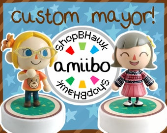 Custom Animal Crossing Mayor Amiibo