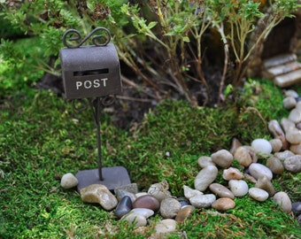 Fairy Garden Mailbox+Fairy Garden Supply+Fairy Garden Accessory