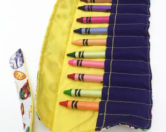Shopkins crayon roll