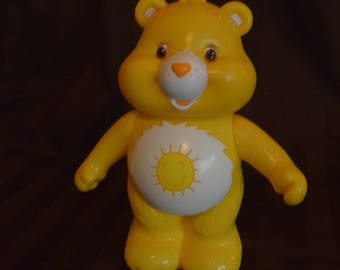 "Funshine Care Bear Figure 7"""
