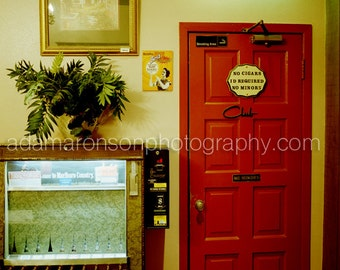 Photograph Of Club No Minors In El Patio Restaurant Houston, Texas