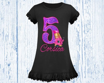 Shopkins Birthday Shirt - Shopkins Dress Available