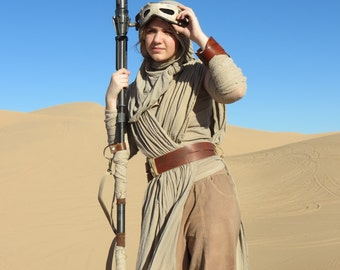 Rey's Staff From The Force Awakens