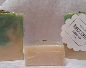 NEW** Tropical Forest Handmade Soap