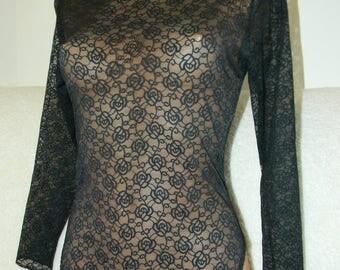 Black bodysuit,laced bodysuit,plus size corset,vintage lingerie,Body shaper,Plus size lingerie,honeymoon lingerie,handmade lingerie