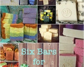 SIX BAR BOXES - Buy Six Bars for One Shipping Price
