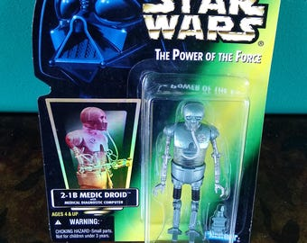 Star Wars The Power of the Force 2-1B Medic Droid Kenner 1996