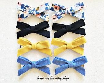 SOPHIA pigtail bow set