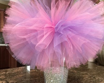 Pink and lavender tutu~Pastel tutu~Easter tutu~ first birthday tutu~beautiful full tutu