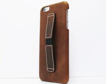 Phone Case iPhone 6 plus leather case, iPhone 6s Plus Case Best Buddy leather iPhone 6 Plus Case protective iphone 6 plus case leather