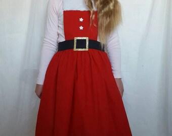 Christmas Mrs. Claus dress up apron