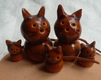 Vintage Ceramic Cats