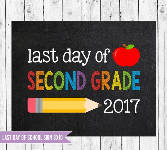 It is an image of Zany Last Day of 2nd Grade Printable