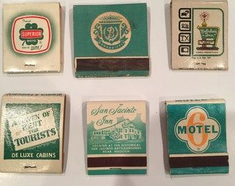 Matchbook Frame Set- Hotel Collection Green
