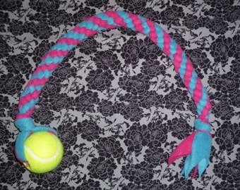 Pink and Blue Twist