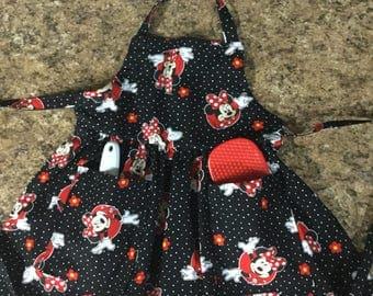 Minnie Mouse Apron Child Size