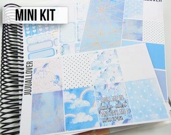 Unicorn Mini Kit Planner Stickers l Vertical Weekly Kit l  White Space Stickers l Spring Kit l Unicorn Stickers : UNICORN DREAMS