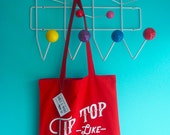 Tip Top Like Soda Pop Tote Shopper Bag - Red