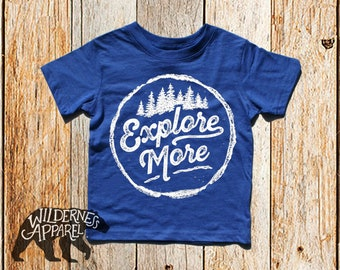 NEW ~ Explore More ~ Toddler Crew Tee ~ Available In Vintage Colors