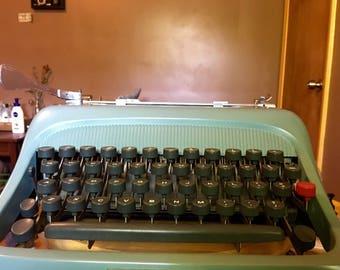 SOLD*Cursive Olivetti Studio 44 Typewriter