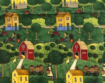 Apples Farm by Debbie Mumm fabric Lengths