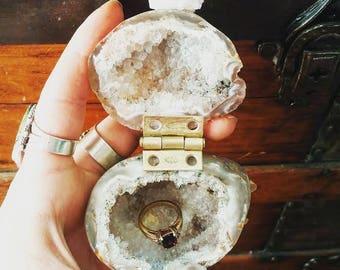 Geode Ring Box #15