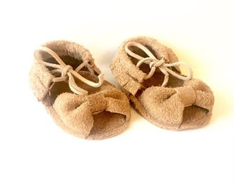 Leather /Suede Baby Sandals