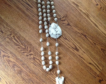 """Large Rosary/XLarge Oxolyle Rosary Bead/Religious Items/Rosary Bead 65"""""""