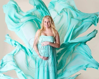 Turquoise Maternity Dresses