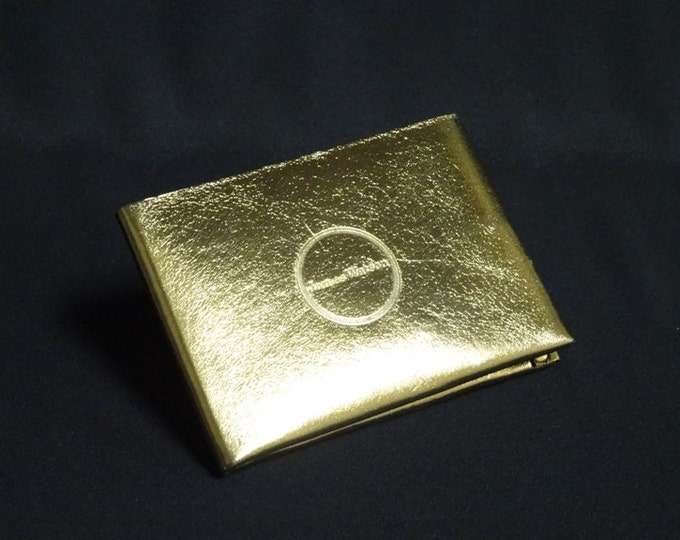 6Pocket Wallet - Gold Chrome - Kangaroo leather with RFID credit card blocking - Handmade - James Watson
