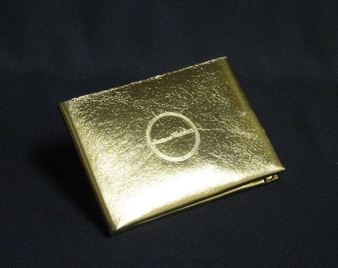 6-Pocket Wallet - Gold Chrome - Kangaroo leather with RFID credit card blocking - Handmade - James Watson