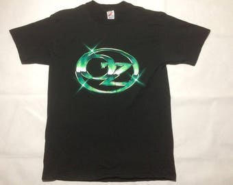 Vintage wizard of oz t shirt mens large 80s 90s movies films