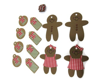 Holiday Gift Tags Set of 12