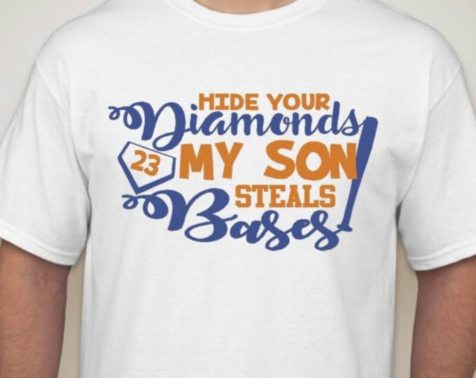 Hide my diamonds tshirt