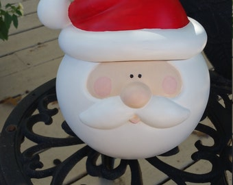 Santa Ceramic Cookie Jar
