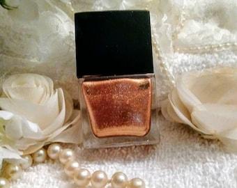 Blushed Bronze Nail Polish~Nail Polish~Bronze Nail Polish~Nail Care~Manicure~Nails~Glittering Nail Polish~Bronze Polish~