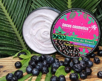 Mothers Day gift/ Acai Face mask / Antioxidant face mask/