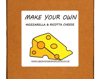 Make Your Own Homemade Mozzarella and Ricotta Cheese Making Kit