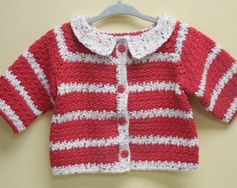 Baby Christmas Sweater Crochet Baby Christmas Sweater Cotton